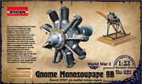 Двигатель Gnome Monosoupape 100 h.p. 621 Roden 1:32