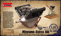 Двигатель Hispano Suiza 8A 150 h.p. 622 Roden 1:32