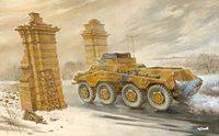Sd.Kfz.234/1 Aufklarer Schwerer Panzerspahwage. 703 Roden 1:72