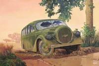 "Opel Blitzbus Ludewig ""Aero"" армейский. 728 Roden 1:72"
