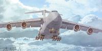 C-5M Super Galaxy военно-транспортный самолет - 332 Roden 1:144
