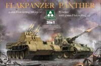 Flakpanzer V зенитка на базе Пантеры (2 в 1 - Coelian и MG151/20) - 2105 Takom 1:35