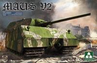 Panzer VIII Maus V2 сверхтяжелый танк - 2050 Takom 1:35
