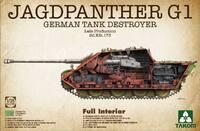 Jagdpanther G1 (Ягдпантера G1 поздняя) истребитель танков - 2106 Takom 1:35