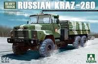 КрАЗ-260 грузовик. Сборная модель автомобиля в масштабе 1:35. Артикул: 2016 Takom