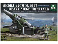 Skoda 42cm M.1917 осадная гаубица. 2018 Takom 1:35