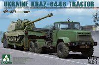 КрАЗ-6446 с ЧМЗАП-5247Г тягач с полуприцепом. Сборная модель в масштабе 1:35. Артикул: 2019 Takom
