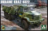 КрАЗ-6322 (поздний) грузовик. 2022 Takom 1:35