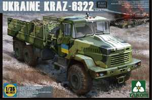 КрАЗ-6322 (поздний) грузовик - 2022 Takom 1:35