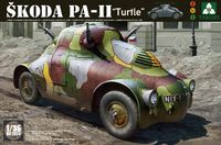 Skoda PA-II «Черепаха» бронеавтомобиль. 2024 Takom 1:35