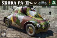 "Skoda PA-II ""Черепаха"" бронеавтомобиль. Сборная модель в масштабе 1:35. Артикул: 2024 Takom"