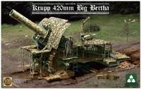 «Большая Берта» 420-мм осадная мортира (42 cm M-Gerat L/12 Dicke Bertha). 2035 Takom 1:35