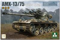 АМХ-13-75 с ПТУР СС-11 легкий танк (AMX-13 mle 51 FL11 missiles SS.11). 2038 Takom 1:35