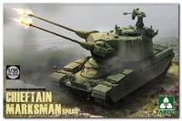 «Марксман» зенитная башня на шасси ОБТ «Чифтен» (Chieftain Marksman AA Gun Turret). 2039 Takom 1:35