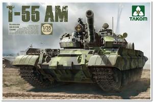 Т-55АМ средний танк. 2041 Takom 1:35