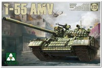 Т-55АМВ средний танк. 2042 Takom 1:35