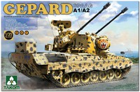 «Гепард-1» А1/А2 ЗСУ Бундесвера (Flakpanzer Gepard 1 A1/A2). 2044 Takom 1:35