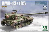 АМХ-13-105 легкий танк (AMX-13-105 mle 58 FL12). 2062 Takom 1:35