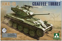 АМХ-13 с башней М24 «Чаффи» легкий танк (AMX-13 Chaffee Turret). 2063 Takom 1:35