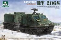 BV-206S Лось вездеход с активным прицепом. 2083 Takom 1:35