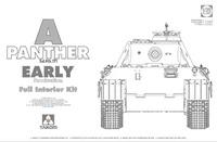 «Пантера» (Panther Ausf. A early) средний танк с полным интерьером. 2097 Takom 1:35