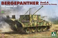 «Бергепантера» (Bergepanther Ausf. A DEMAG) БРЭМ. 2101 Takom 1:35