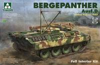 «Бергепантера» (Bergepanther Ausf. D Umbau Seibert) БРЭМ. 2102 Takom 1:35