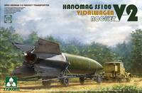 «Ганомаг» SS-100 (Hanomag SS100 V-2 Rocket Transporter) дорожный балластный тягач с «Фау-2». 2110 Takom 1:35