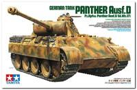 """Пантера"" (Pz.Kpfw. V Panther Ausf. D) средний танк. 35345 Tamiya 1:35"