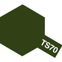 TS-70 JGSDF Olive Drab  краска-спрей 100мл. 85070 Tamiya