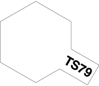 TS-79 Semi Gloss полуматовый лак-спрей 100мл. 85079 Tamiya