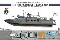 CB90 FDST Assault Craft :: Combat Boat 90 боевой катер :: Tiger Model 6293 1:35