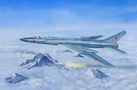 Ту-128 барражирующий перехватчик  - 01687 масштаб 1:72