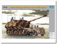 """""""Мардер"""" I (7,5 cm PaK 40/1(Sf) auf Geschutzwagen 39H(f) Marder I) учебно-боевая ПТ САУ. 00354 Trumpeter 1:35"""