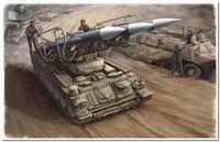 "2П25 ""Куб"" (SA-6 Gainful ) ПУ ЗРК дивизионной ПВО. 00361 Trumpeter  1:35"