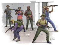 Африканские борцы за свободу. 00438 Trumpeter 1:35