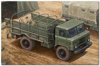 ГАЗ-66 (тентованый) грузовик повышенной проходимости. 01016 Trumpeter 1:35