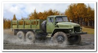 «Урал-375Д» грузовик 6х6. 01027 Trumpeter 1:35