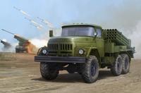 9П138 «Град-1» БМ полковой РСЗО на базе ЗиЛ-131. 01032 Trumpeter 1:35