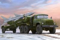 С-75 «Двина» ЗиЛ-131В с ракетой на полуприцепе ПР-11 транспортно-заряжающая машина ЗРК. 01033 Trumpeter 1:35
