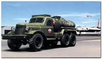 Зил-157 (заправщик) грузовик повышенной проходимости. 01102 Trumpeter 1:72