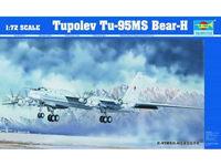 Ту-95МС стратегический ракетоносец. 01601 Trumpeter 1:72