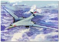 Ту-160 стратегический бомбардировщик - 01620 Trumpeter 1:72