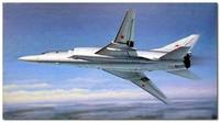 Ту-22М2 дальний бомбардировщик. 01655 Trumpeter 1:72
