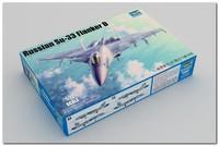 Су-33 палубный истребитель. 01667 Trumpeter 1:72