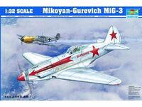 МиГ-3 истребитель. 02230 Trumpeter 1:32