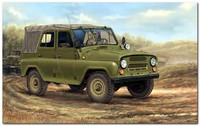 УАЗ-469 легковой автомобиль повышенной проходимости. 02327 Trumpeter 1:35