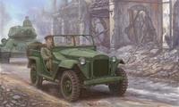 ГАЗ-67Б армейский автомобиль. 02346 Trumpeter 1:35