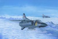МиГ-23М многоцелевой истребитель. 02853 Trumpeter 1:48