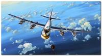 Ту-95МС стратегический ракетоносец. 03904 Trumpeter 1:144